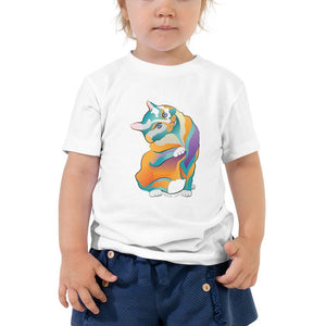 2T Percival Cat | Toddler Short Sleeve Tee Kadance Shop
