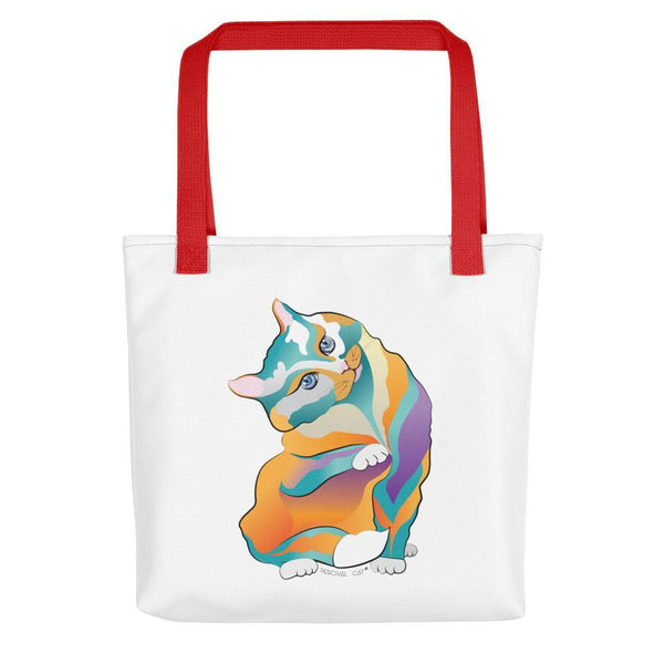 Red Percival Cat | Tote bag Kadance Shop