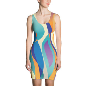 XS Percival World | Sublimation Cut & Sew Dress Kadance Shop