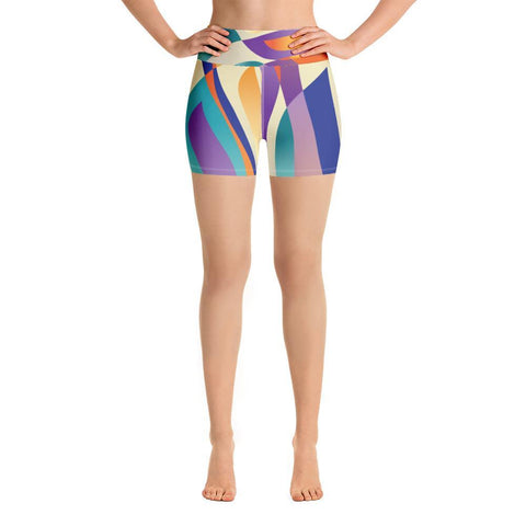 XS Percival World | Yoga Shorts Kadance Shop