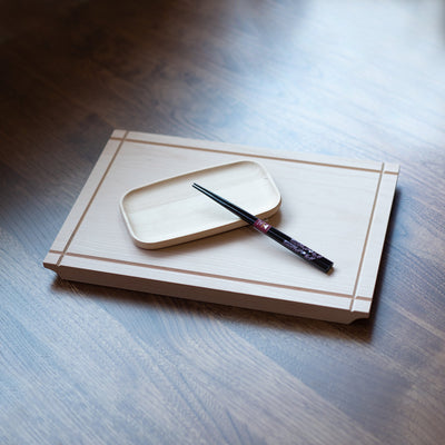 WOODEN RECTANGLE PLATE - livealifehome