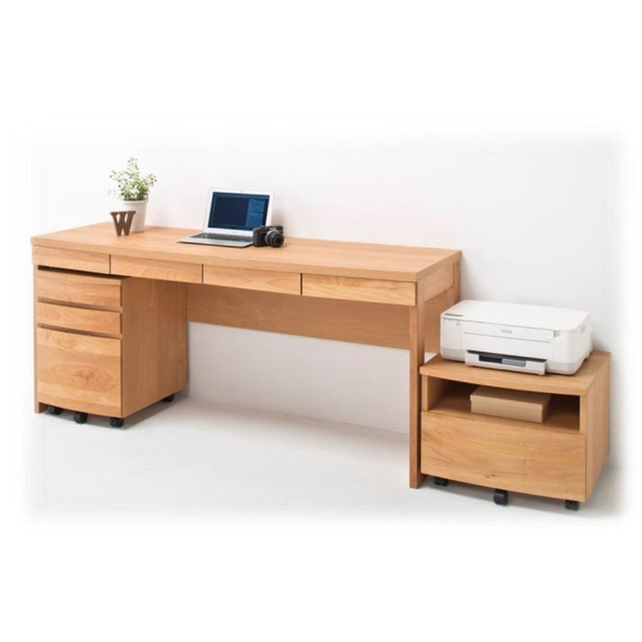 HOTTA WORKING DESK WITH 4 DRAWERS 160 - livealifehome
