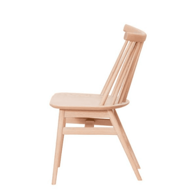 NATURAL WOODEN DINING CHAIR