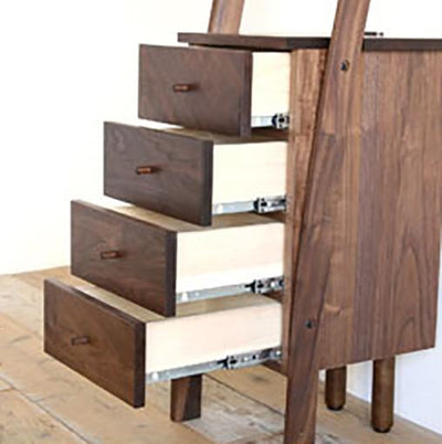 Deep 40 shelf cabinet (WITH DRAWERS)