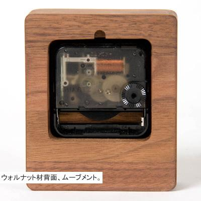WOODEN SMALL CLOCK - livealifehome
