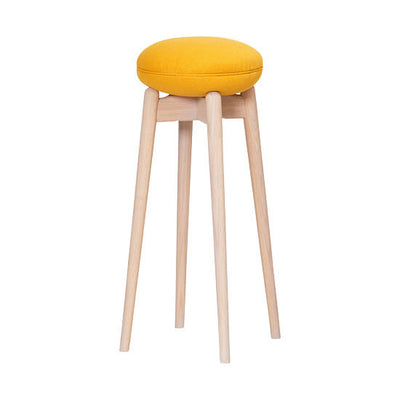 WOODEN MACAROON HIGH STOOL