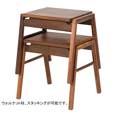 WOODEN COUNTER SQUARE STOOL - livealifehome