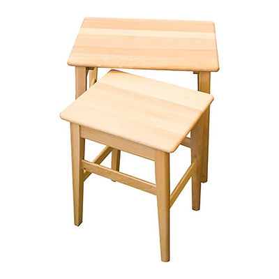 WOODEN SIDE TABLE SET - livealifehome
