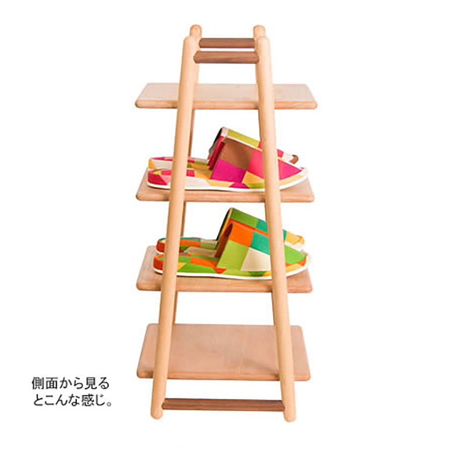 WOODEN 4 LAYERS RACK