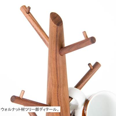WOODEN TREE CUP HANGER - livealifehome