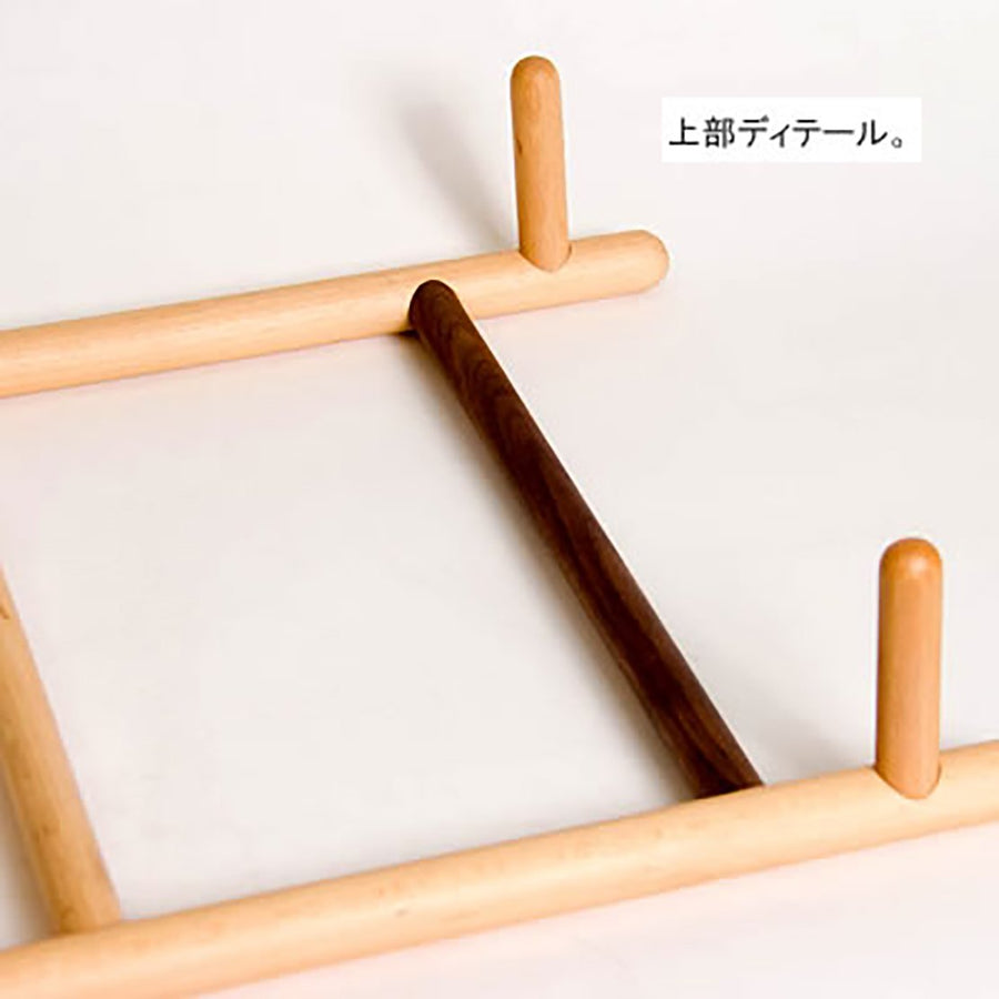 WOODEN LADDER HANGER