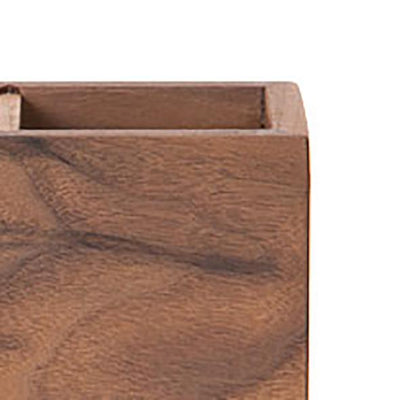 WOODEN SQUARE PEN HOLDER - livealifehome