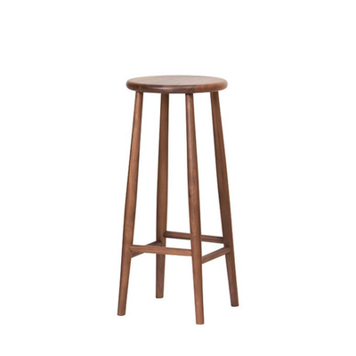 WOODEN COUNTER BAR STOOL