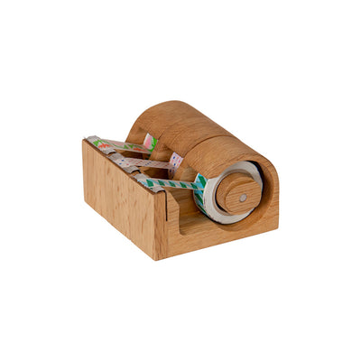 WOODEN MASKING TAPE CUTTER