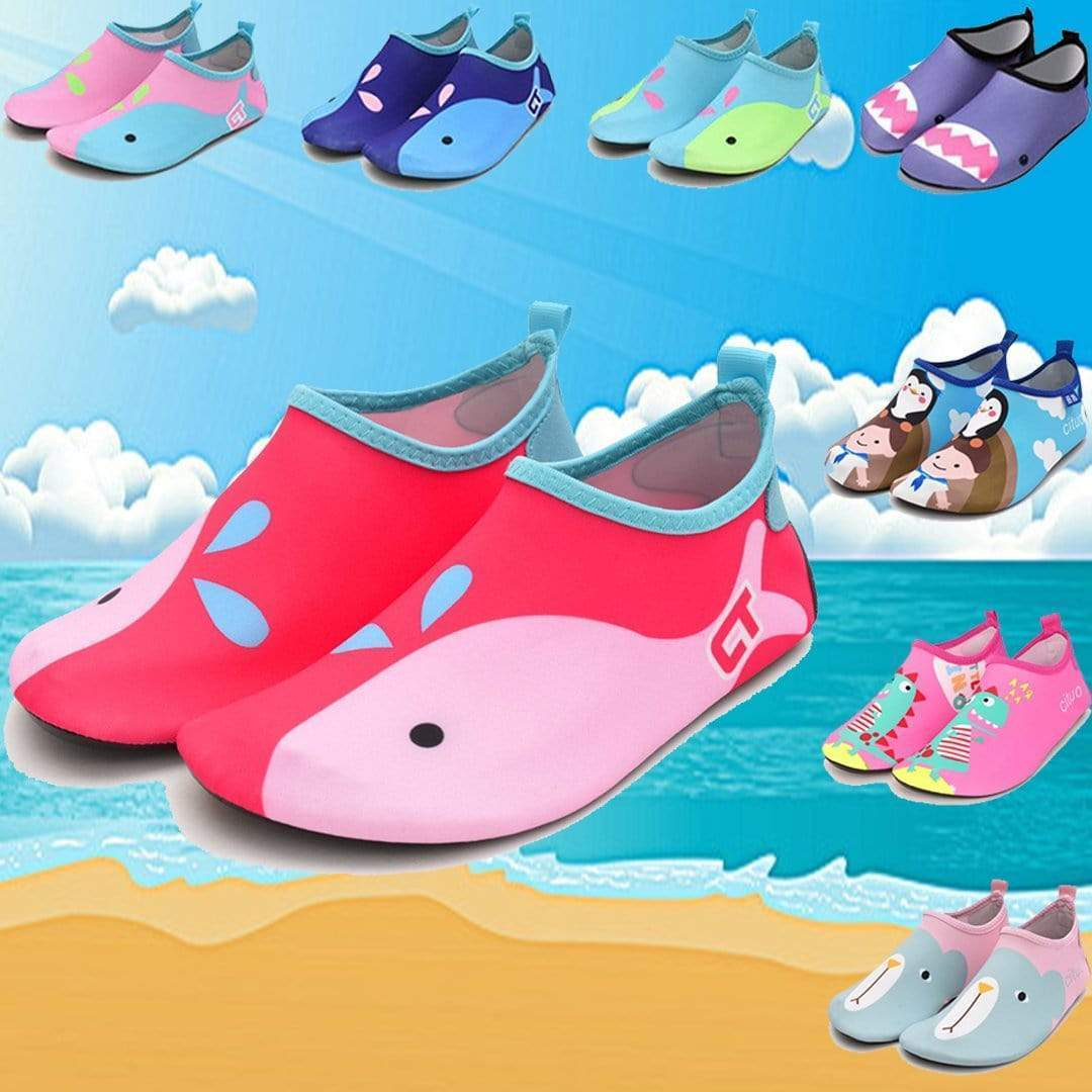 Kids Barefoot Quick-Dry Water Shoes for Beach Pool Surfing Yoga Exercise - getanne