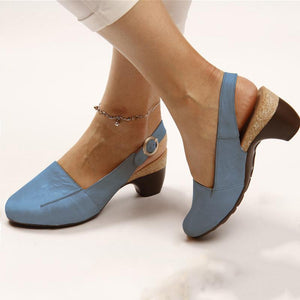2019 Summer New Comfortable & Steady Chunky Heel Sandals