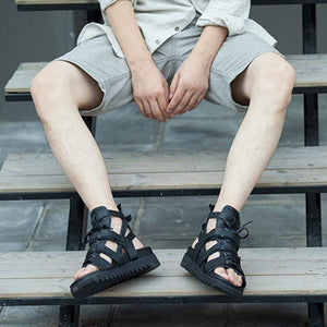 Men's Summer Genuine Leather Sports Sandals - getanne
