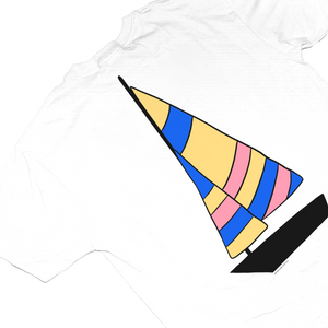 Sailboat Tee White