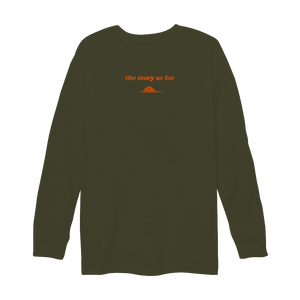 Neon Mountain Embroidered Longsleeve