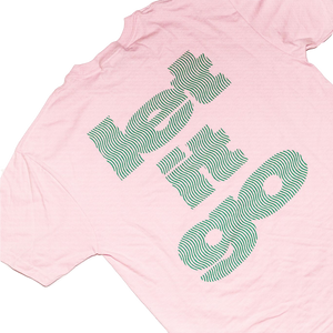 Let It Go Pink Tee