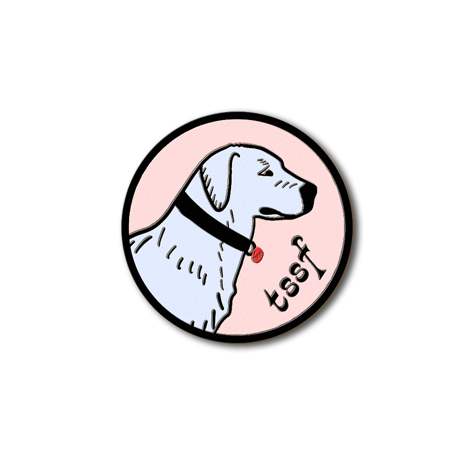 Dog Enamel Pin