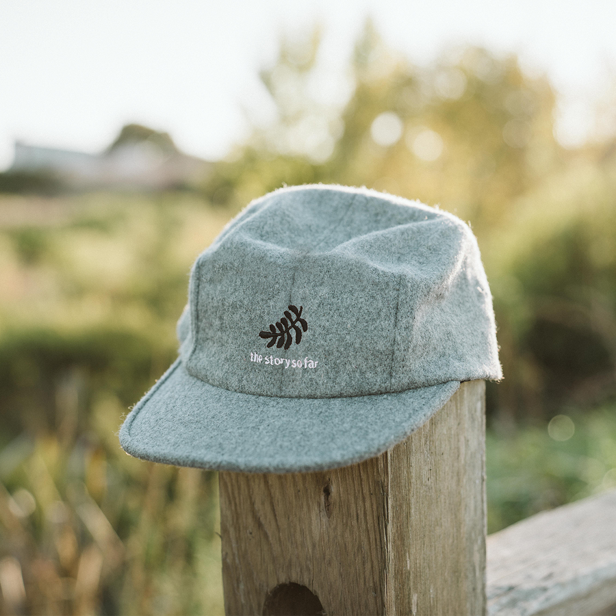 Grey Leaf Hat