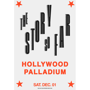 Palladium Sold Out Show Poster