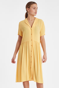 Buff Yellow Dress