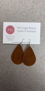Leather Dangle Earring