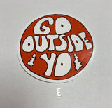 Outdoor & Travel Sticker Collection 2.0