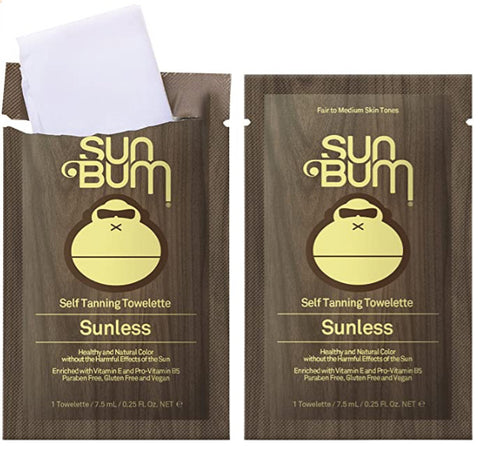 Sun Bum Self Tanning Towelette