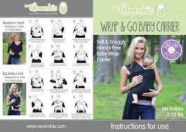 Woombie Wrap & Go Carrier