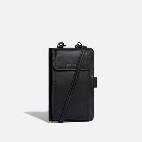 Rae Phone Crossbody – Black
