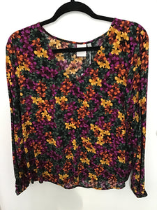 Hassina Floral  Blouse
