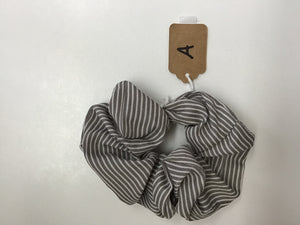 PS Stripe Scrunchie