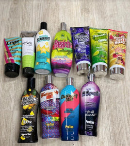 Various Tanning Lotions