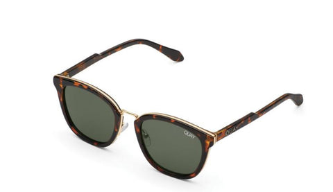 Run Around Sunglasses - Tort/green