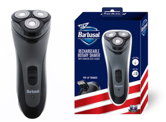Rechargeable Rotary Shaver