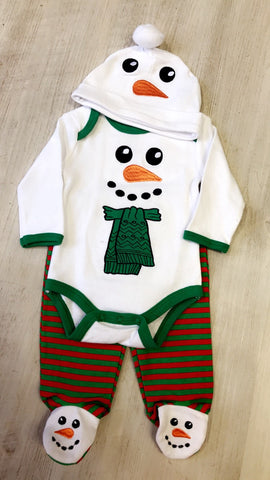 Cutest Snowman 3PC