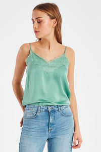 Sheen Lace Top