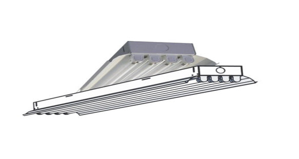 "Industrial Series 2 LED 48"" DC Light Fixture"