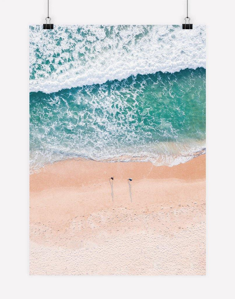 Aerial Beach | Poster Print - Wall Art