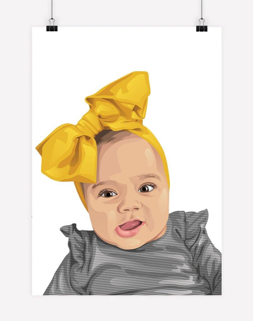 Custom Child Portrait