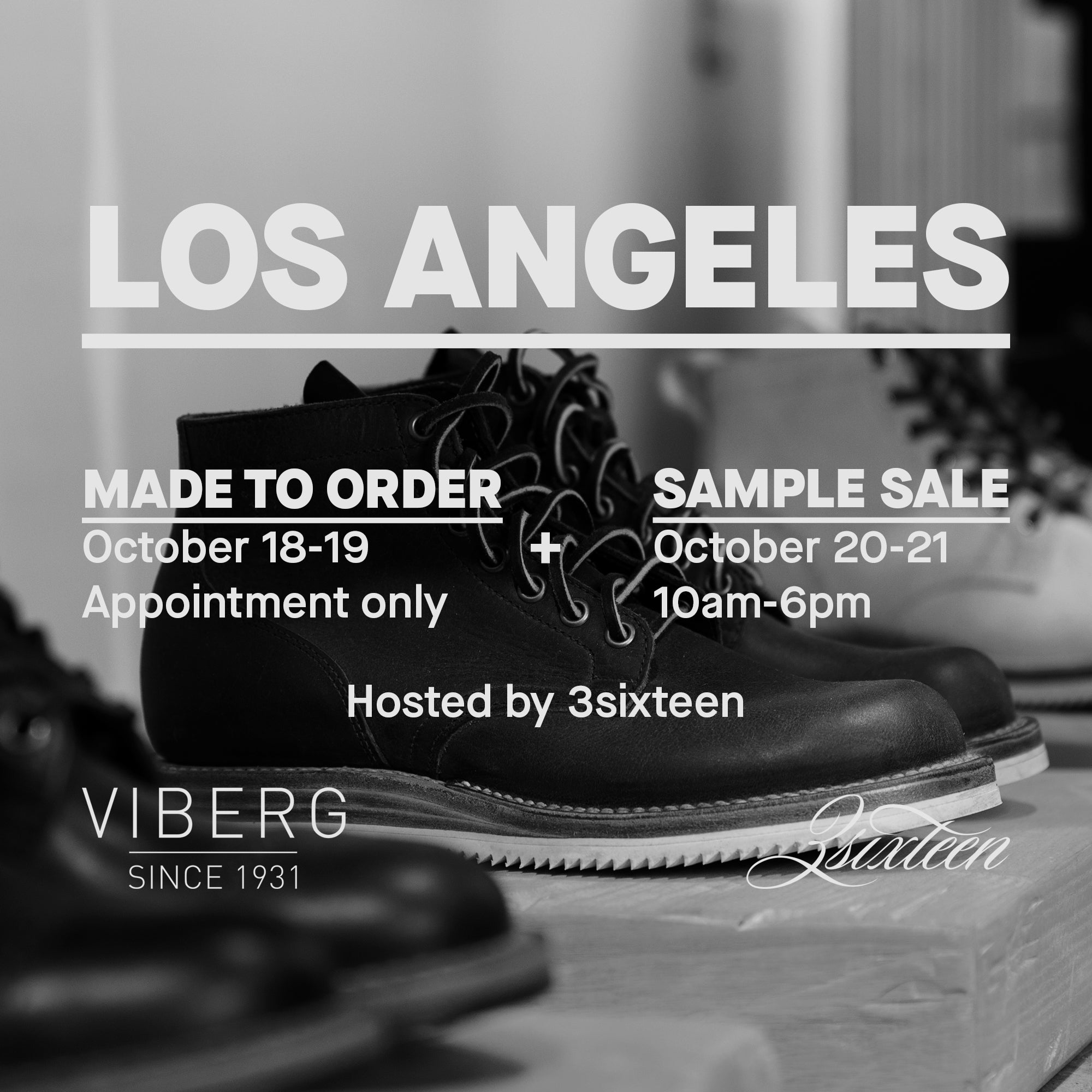 LA Made to Order + Sample Sale with Viberg.