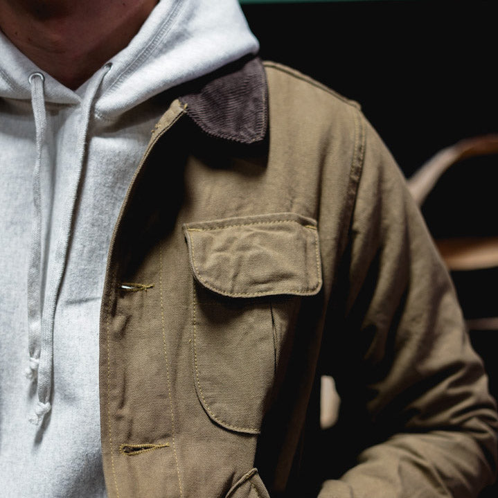 Up Close: Hunting Jacket.