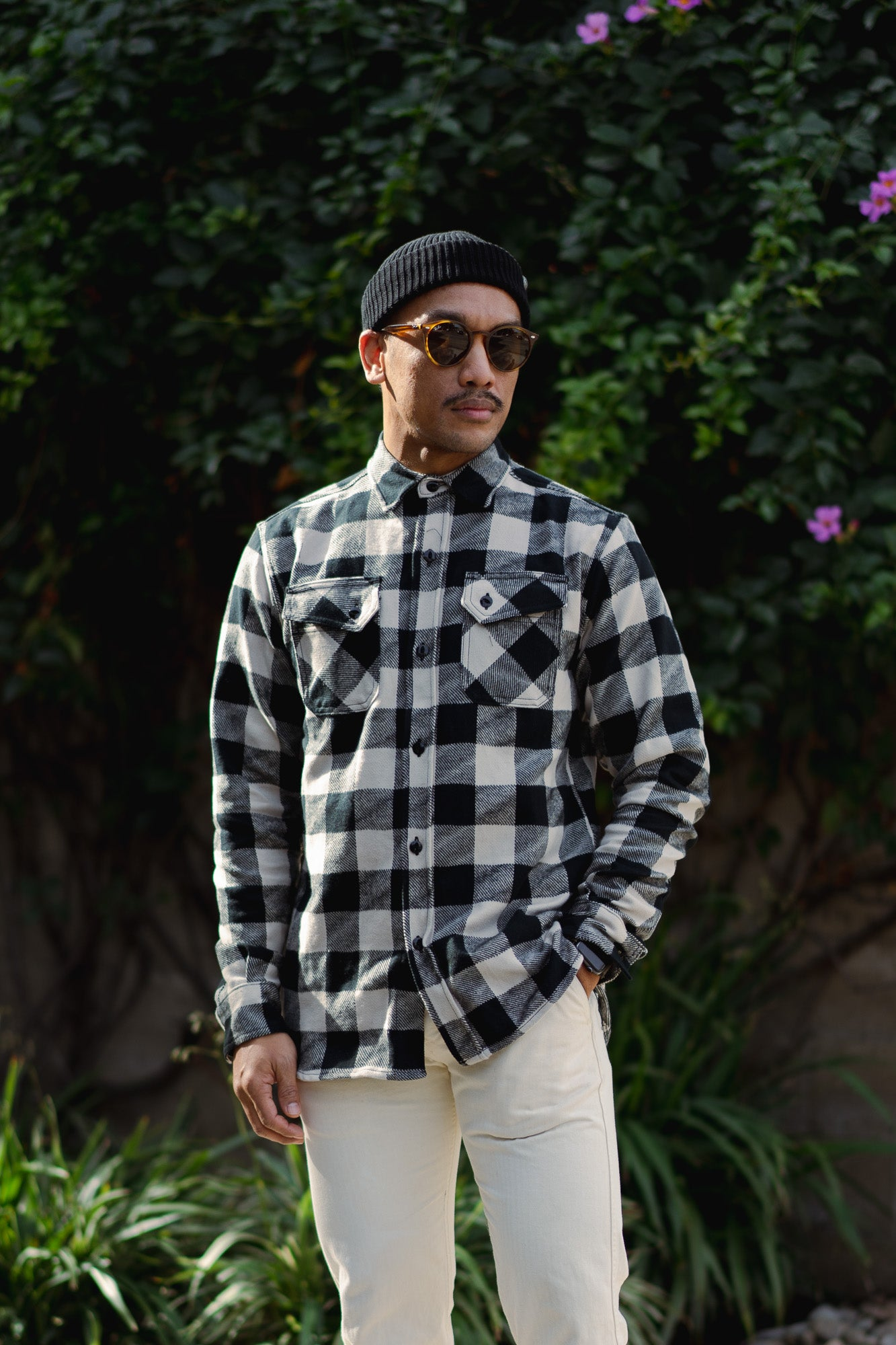 """Drunk Check"" Crosscut Flannels."