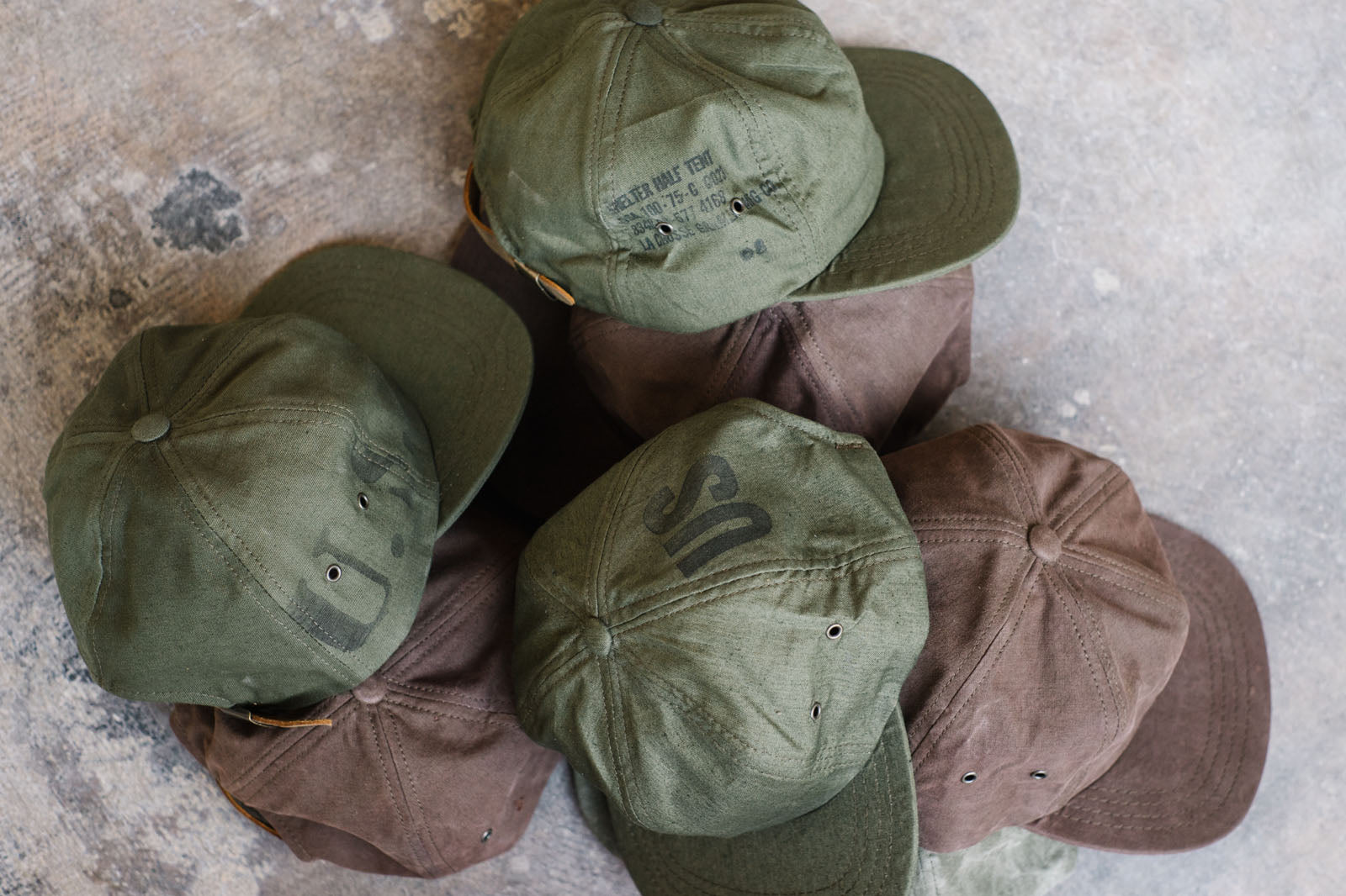 Coming Soon: US Army Tent Caps.