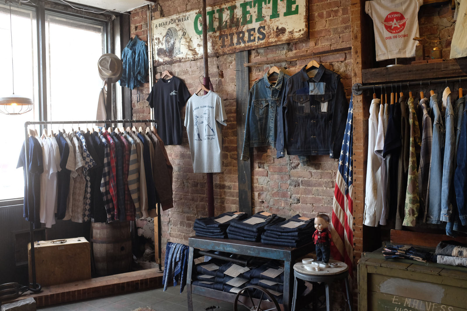 Pop Up at Raggedy Threads NY.