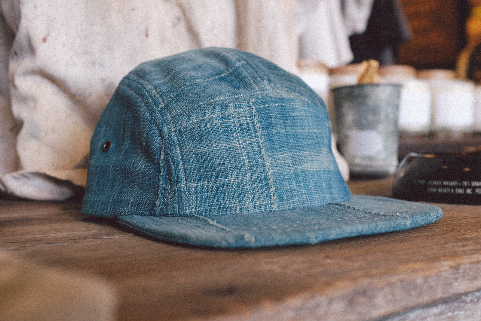 Indigo Blanket 5-Panel Caps.