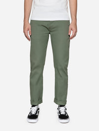 CH-55x ~ Olive Selvedge Chino